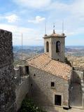 Взгляд от башни Guaita стоковая фотография