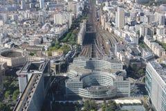 Взгляд от высоты в Париже Стоковая Фотография RF