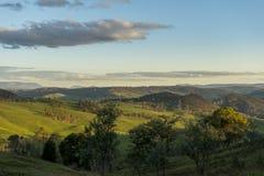 Взгляд от городка сельской местности Lithgow в NSW Австралии стоковые изображения