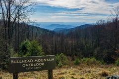 Взгляд от горы подкаменщика обозревает Стоковое Фото