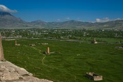 Взгляд от замка Van, Турции Стоковые Фотографии RF