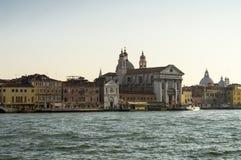 Взгляд от канала в Венеции стоковое фото