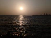 Взгляд от морского привода стоковая фотография