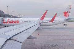 Взгляд от окна воздушных судн, международного аэропорта Penang, Malaysi Стоковое фото RF