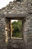 Взгляд от окна замка Стоковое фото RF