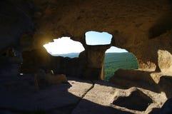 Взгляд от пещеры Стоковые Изображения