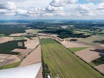 Взгляд от планера Стоковая Фотография RF