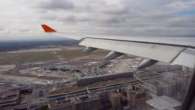 Взгляд от самолета акции видеоматериалы