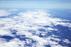 Взгляд от самолета стоковые фотографии rf