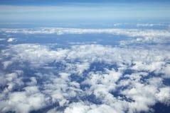 Взгляд от самолета стоковое фото