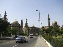 Взгляд от цитадели старого Каир Стоковые Фотографии RF