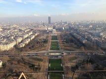 Взгляд от Эйфелеваа башни Стоковое Изображение
