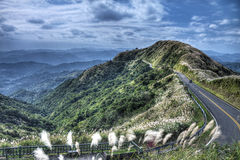 Взгляд от Buyanting, Jiufen Тайвани Стоковое Изображение RF