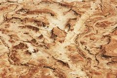 Взгляд от Masada на пустыне на солнечный день стоковые изображения rf