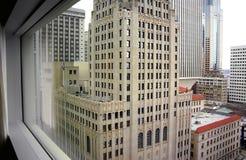 Взгляд от 32nd пола городского Сиэтл стоковые изображения rf