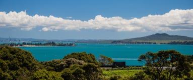 Взгляд от Waiheke - 2 Стоковое Фото