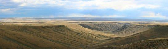 взгляд панорамы горы осины Стоковая Фотография RF