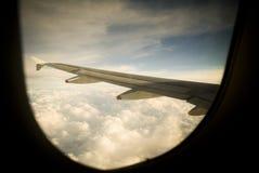 взгляд пассажира Стоковая Фотография