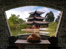 взгляд пейзажа lijiang Стоковое Изображение