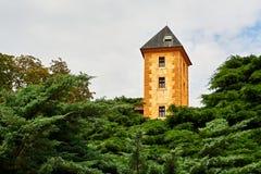взгляд передней части фарфора замока Стоковые Изображения