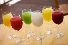 Взгляд питья слякоти Стоковая Фотография RF