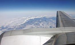 взгляд плоскости двигателя Стоковое Изображение RF