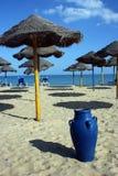 взгляд пляжа славный Стоковое фото RF