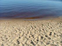 взгляд пляжа стоковое изображение