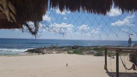 Взгляд пляжа стоковая фотография