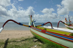 взгляд пляжа bali Стоковая Фотография