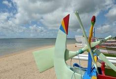 взгляд пляжа bali Стоковые Изображения