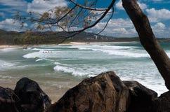 Взгляд пляжа - Coffs Harbour Стоковое Фото