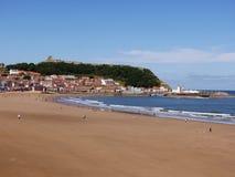 Взгляд пляжа Scarborough стоковые изображения rf