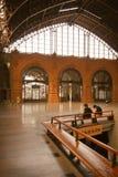 взгляд поезда станции Чили бывший внутренний Стоковое Фото