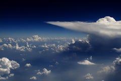 взгляд полета 30 облаков Стоковые Фотографии RF