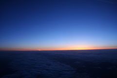 взгляд полета 70 облаков Стоковые Фото