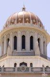взгляд положения haifa Израиля bahai нижний Стоковые Изображения