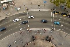 взгляд портала placa pau la de del стоковые фото