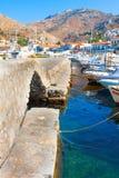 Взгляд порта Hydra Стоковые Фото