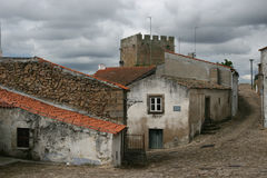 взгляд Португалии города старый стоковые изображения rf
