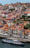 Взгляд Порту и реки Дуэро Стоковое фото RF