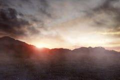 Взгляд предпосылки холма ужаса стоковая фотография rf