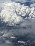 Взгляд птицы на более дождливой горе на штате Вашингтоне стоковые фото
