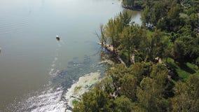 Взгляд птицы озера Qionghai в ¼ ŒChina Xichangï Стоковая Фотография RF