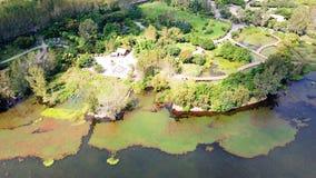 Взгляд птицы озера Qionghai в ¼ ŒChina Xichangï Стоковое Изображение