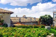 Взгляд Птиц-глаза San Marino. Панорама. стоковые фото