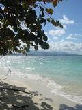 взгляд Пуерто Рико fajardo пляжа карибский Стоковое Изображение