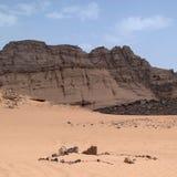 Взгляд пустыни Сахары Стоковая Фотография