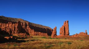 взгляд пустыни Стоковая Фотография RF