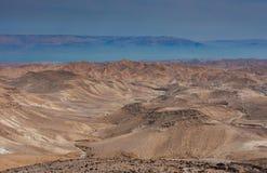 Взгляд пустыни Judean на Израиле стоковая фотография
